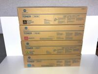 Honika Minolta Laser Printer Cartridges 4 pack