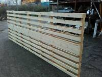 Fencing panels /palletts ranch style ideal for Paddock or Allotment