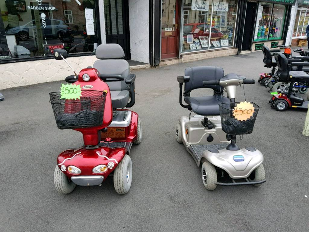 Mobility scooter brand new batteries