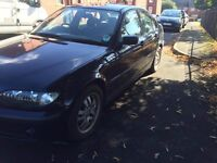 BMW 3 series saloon excellent condition very clean cheap quick sale
