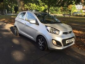 2013 KIA PICANTO AIR 5DR CAT D NOW REPAIRED WITH PICTURES 14,000 MILES ONLY EXCELLENT CONDITION