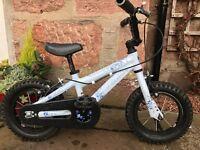 "12"" Merida Dakar kids bike with detachable stabilisers"