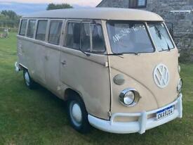 VW splitscreen - 1970 - LHD - 1500cc - 15 window - bus - camper - campervan - van