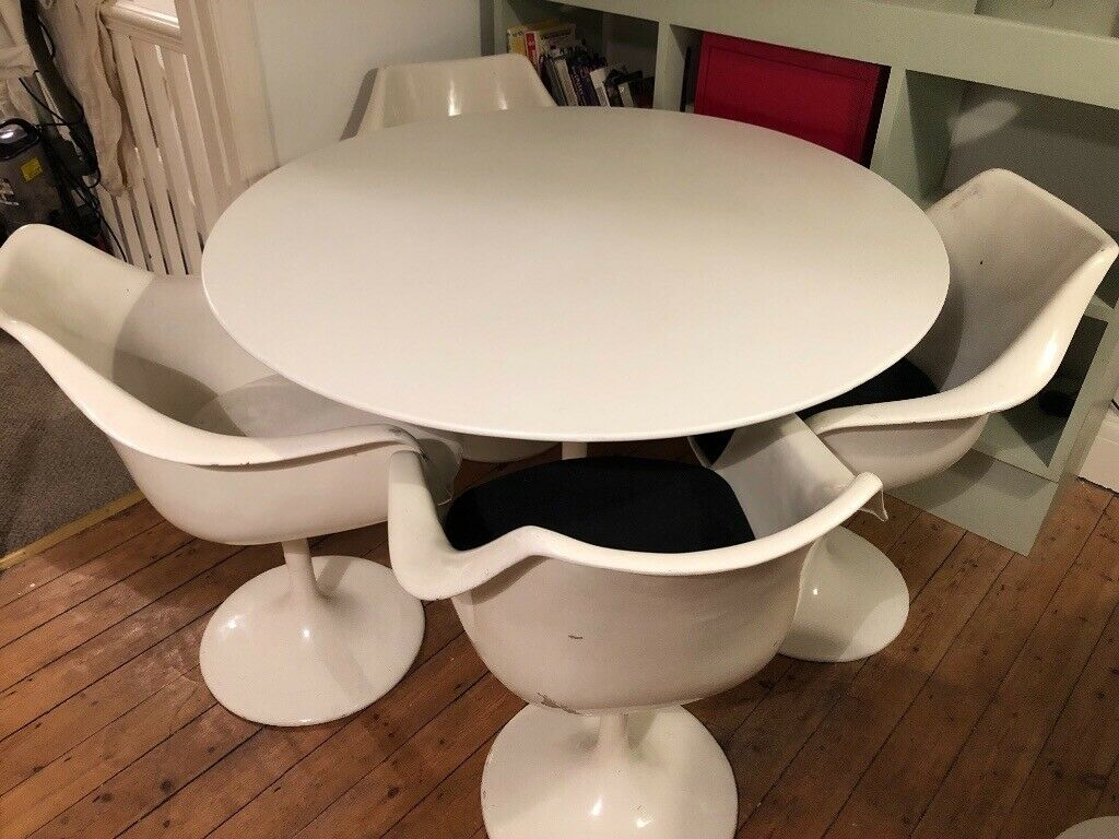 Retro Tulip Table And Chairs