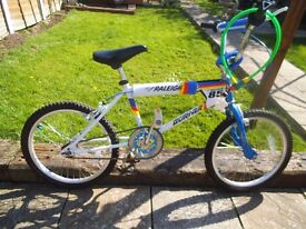Raleigh Burner bmx bike ** Team Burner ***
