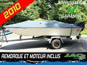 2010 Grand Craft Corp Chaloupe Grand Canadien 14 pieds Bateau /