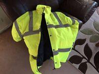 Workwear high viz jacket