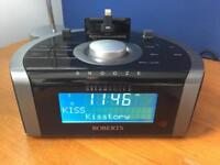 Roberts Dream Dock 2 DAB clock radio with iPod/iPhone dock