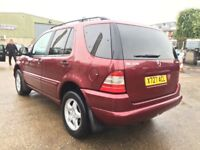 2001 MERCEDES ML270 CDI 7 SEATER DIESEL FULL SERVICE HISTORY PX WELOCME