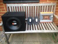 JBL GTO series Sub Woofer 6x9 and 600w amp / car stereo / ice / car audio