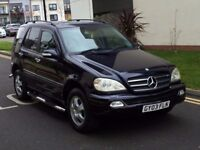 2003 MERCEDES ML 270 CDI***LOW MILEAGE***7 SEATER***FACE LIFT***