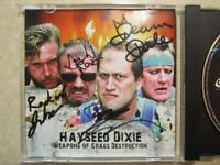 Hayseed Dixie Signed CD