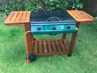 Outback bbq with full gas canister used