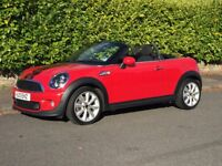 MINI ROADSTER COOPER S 2013 £7950 barely used, genuine low mileage 7446, one very careful lady owner