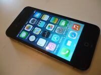 apple i phone 4s , quality i phone & charger for any network,factory unlocked , excellent condition
