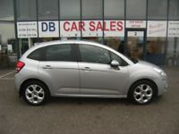 DIESEL !!! 2010 60 CITROEN C3 1.6 HDI EXCLUSIVE 5D 90 BHP **** GUARANTEED FINANCE **** PART EX WEL