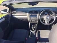 VW Golf SE TDI Convertible with Bluemotion Technology (2011)