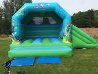 Airquee combi bouncy castle