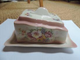 Victorian Ceramic cheese dish