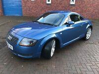 Audi TT 1.8 T Quattro Coupe Blue 2002