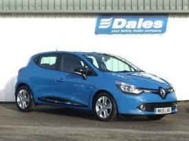 Renault Clio 0.9 TCE 90 Dynamique MediaNav Energy 5dr (french blue rpj) 2015