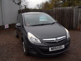 VAUXHALL CORSA 2011 61 PLATE 1.2 LTR PETROL 1 YEAR FRESH MOT WARRANTIED EXCELLENT CONDITION!!!