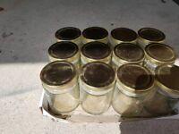 12 Jam jars