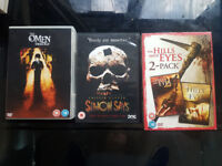 For Sale: Horror films 6 DVDs . Bundle or Separate