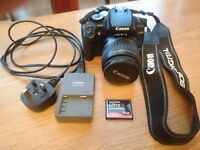 Canon EOS 400D + EFS 18-55mm lens.