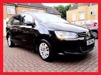 2013 Volkswagen Sharan 2.0 ------- DIESEL 7 Seater ------- 76000 Miles ----- PCO suitable Sharan PCO