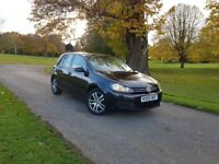 OLKSWAGEN GOLF 2009/09 2.0 TDI 110bhp CR SE 5DR NEW TURBO FITTED NEW SHAPE AUX CRUISE ISOFIX FSH!