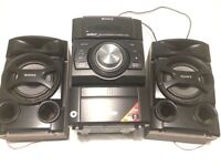 Sony HCD-EC69i Mini Hi-Fi Component System IPod Dock CD Radio MP3 Bluetooth