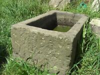 Stone Trough , carved out of one stone ( French) £250