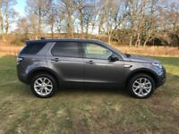 Land Rover Discovery Sport TD4 HSE (grey) 2017-08-07