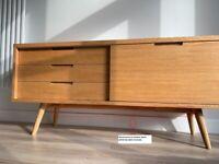 Tribeca Oak Sideboard (without legs)