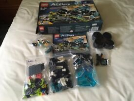 LEGO 70169 Ultra Agents Stealth Patrol Set (Used)