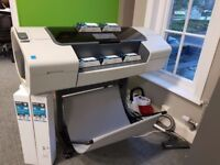 HP DesignJet T1100 24-in Plotter