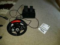 Ps3+ Games + Steering wheel