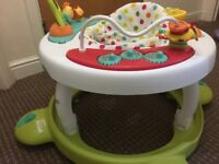 Mothercare baby walker . In excellent condition . Used for short time .