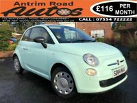 2015 FIAT 500 POP 1.2 PETROL ** PART HISTORY ** FINANCE AVAILABLE