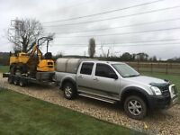 Mini Digger & Driver / Groundworker Available, Digger, Dumper and Driver
