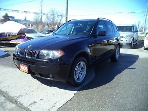 2006 BMW X3 LEATHER PANAROMIC SUNROOF LOADED