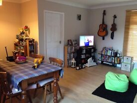Spacious one bedroom ground floor unfurnished flat with garden and off road parking