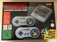 Nintendo Mini SNES - NEW/Unpacked
