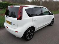 Nissan Note 1.6 N-Tec+ 5dr Auto (white) 2012