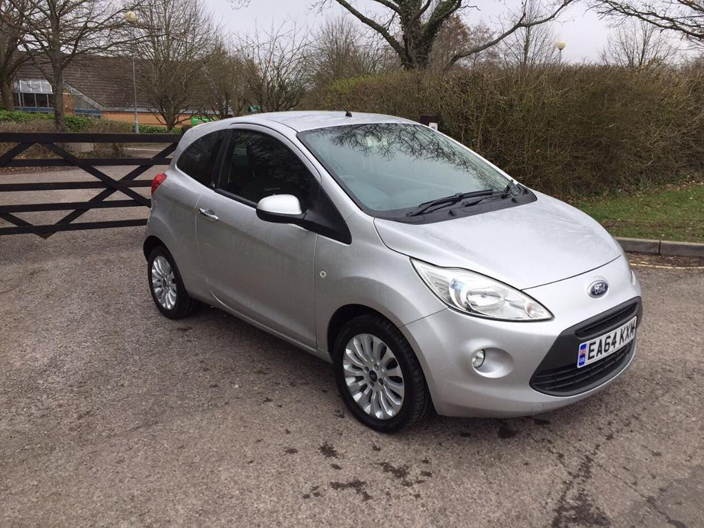 Ford Ka Silver   Metal Hatchback One Year Mot  Miles Only Cat C