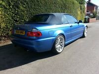 BMW M3 SMG INDIVIDUAL ESTORIL BLUE CONVERTIBLE CSL