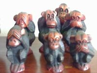 Wooden Monkeys