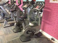 Technogym exercise bike, commercial standard