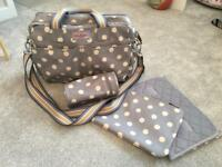 Cath Kidston Changing Bag & Accessories